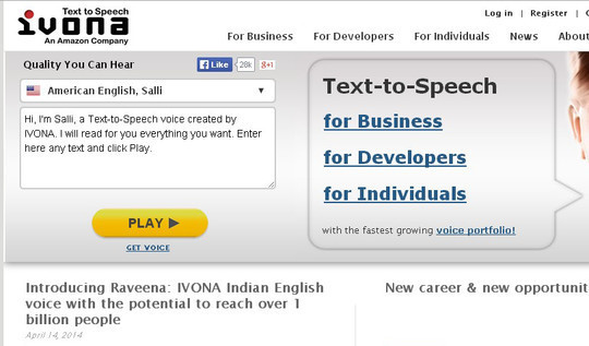 12 Free Tools For Text To Speech Voice Conversion 3