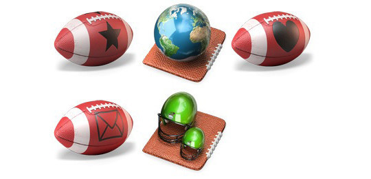 38 Superb Yet Free Sports & Games Icon Sets 23