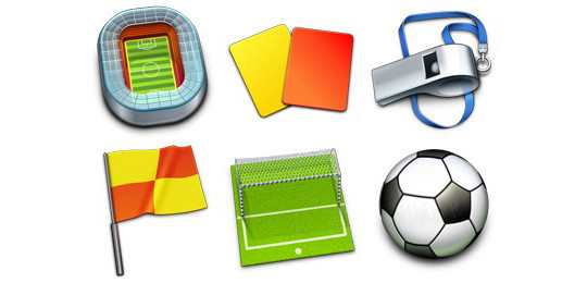 38 Superb Yet Free Sports & Games Icon Sets 25