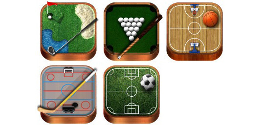 38 Superb Yet Free Sports & Games Icon Sets 28
