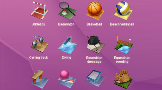 38 Superb Yet Free Sports & Games Icon Sets 269
