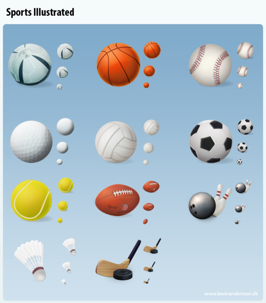 38 Superb Yet Free Sports & Games Icon Sets 17