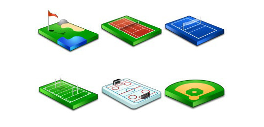 38 Superb Yet Free Sports & Games Icon Sets 39