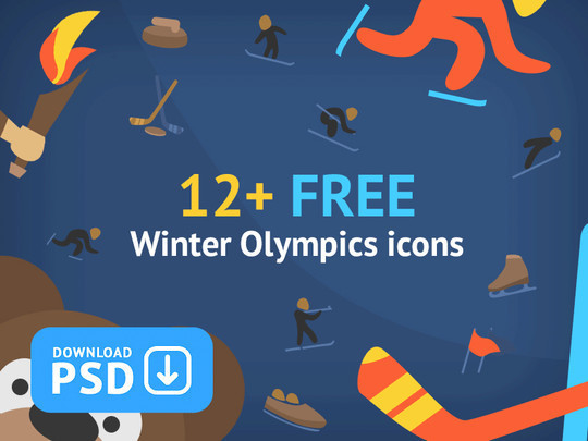 38 Superb Yet Free Sports & Games Icon Sets 7
