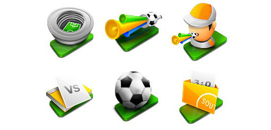 38 Superb Yet Free Sports & Games Icon Sets 13