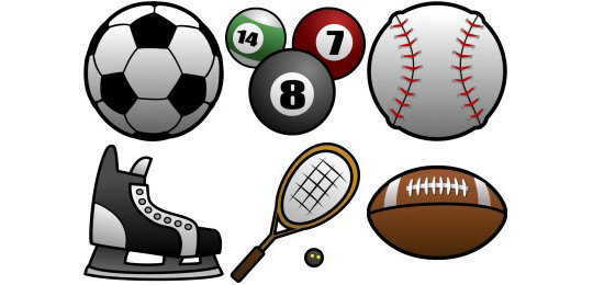 38 Superb Yet Free Sports & Games Icon Sets 14
