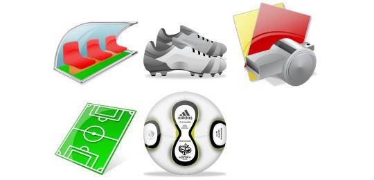 38 Superb Yet Free Sports & Games Icon Sets 18