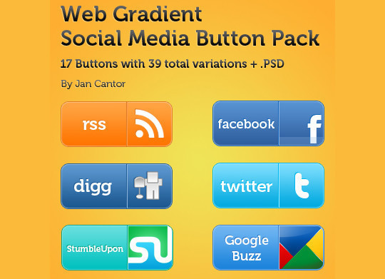 40 Free Web Design Buttons For Web Designers 35