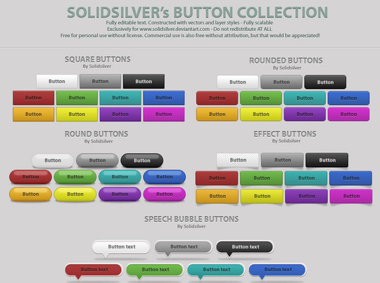 40 Free Web Design Buttons For Web Designers 39