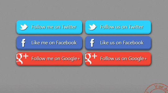 40 Free Web Design Buttons For Web Designers 5