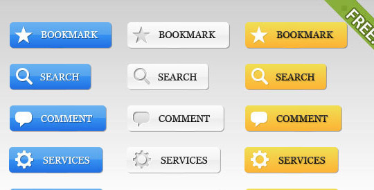 40 Free Web Design Buttons For Web Designers 8