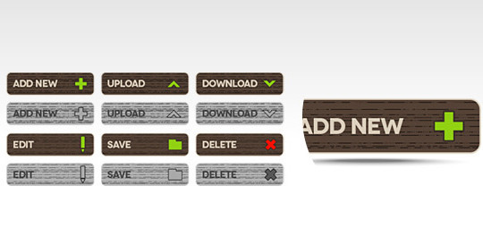40 Free Web Design Buttons For Web Designers 10