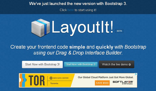 11 Bootstrap UI Editors For Developers 2
