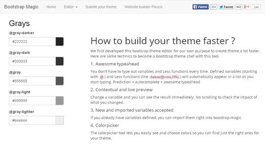 11 Bootstrap UI Editors For Developers 10