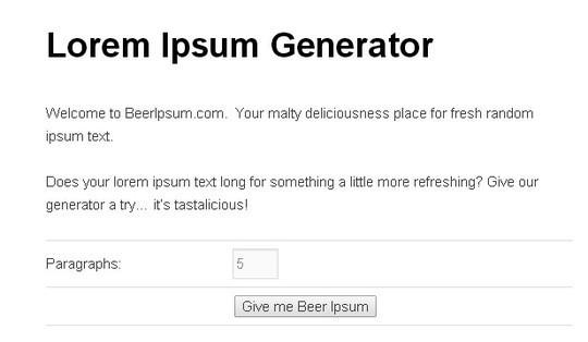 11 Best And Widely Used Lorem Ipsum Generators 12