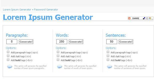 11 Best And Widely Used Lorem Ipsum Generators 4