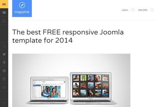 37 Free Bootstrap Joomla Themes 11