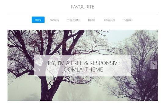 37 Free Bootstrap Joomla Themes 14