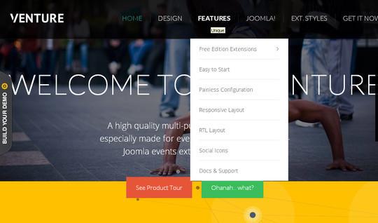 37 Free Bootstrap Joomla Themes 6