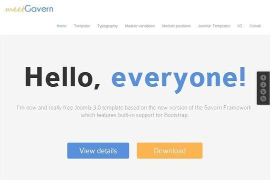 37 Free Bootstrap Joomla Themes 22