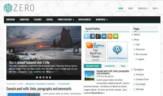 40 Killer Fresh WordPress Themes For Free Download 3