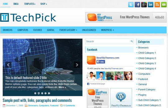 40 Killer Fresh WordPress Themes For Free Download 13