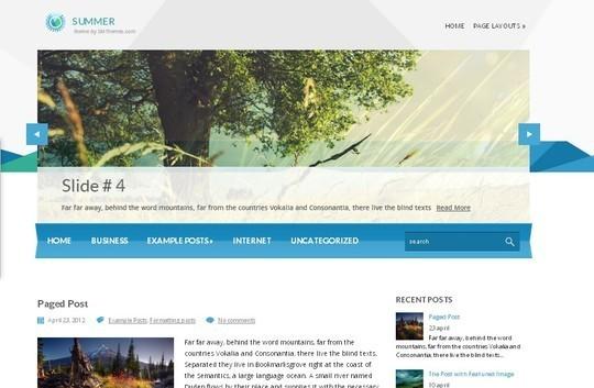 40 Killer Fresh WordPress Themes For Free Download 41