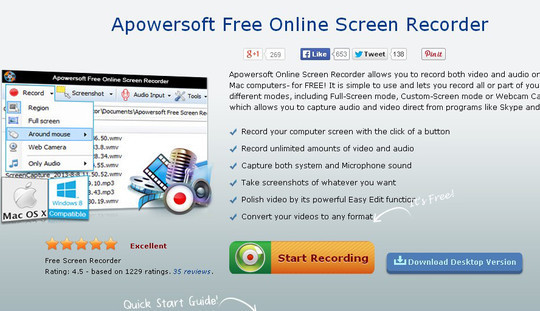 8 Free Screen Recording Tools For Mac OS X 4