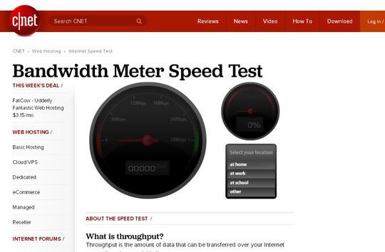 9 Best Online Speed Test Websites 3