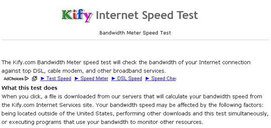 9 Best Online Speed Test Websites 4