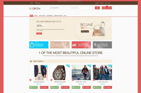 13 Free Ecommerce Templates In Photoshop Format 12
