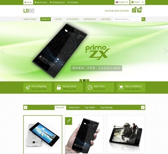 13 Free Ecommerce Templates In Photoshop Format 13