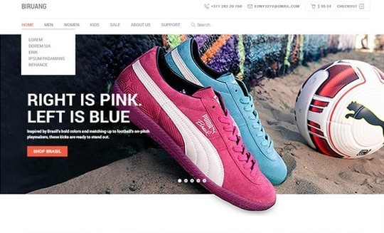 13 Free Ecommerce Templates In Photoshop Format 3