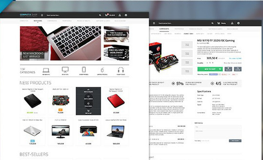 13 Free Ecommerce Templates In Photoshop Format 9