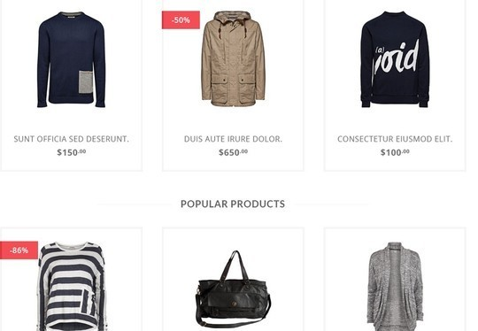 13 Free Ecommerce Templates In Photoshop Format 10