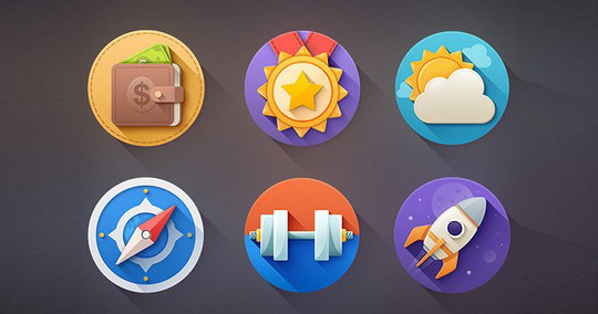 38 Beautiful Icons In PSD For Web Designers 5