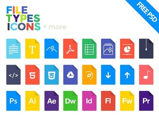 38 Beautiful Icons In PSD For Web Designers 15