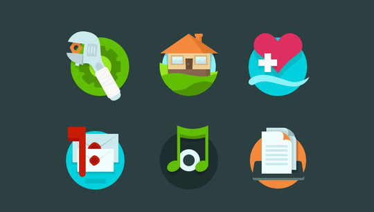 38 Beautiful Icons In PSD For Web Designers 17
