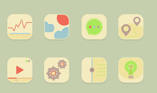 38 Beautiful Icons In PSD For Web Designers 20