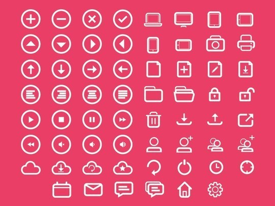 38 Beautiful Icons In PSD For Web Designers 21
