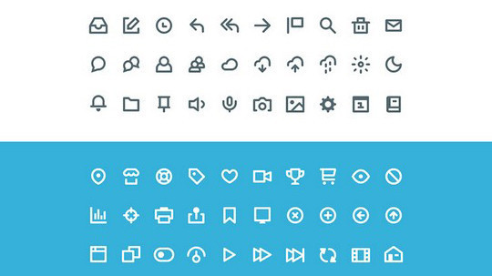 38 Beautiful Icons In PSD For Web Designers 7