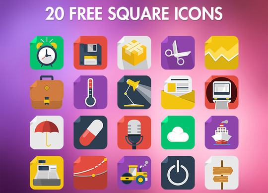 38 Beautiful Icons In PSD For Web Designers 3