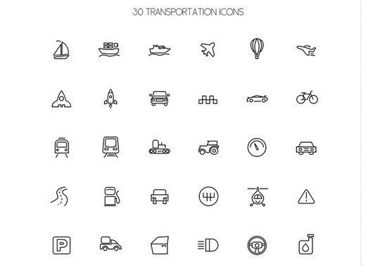 38 Beautiful Icons In PSD For Web Designers 30