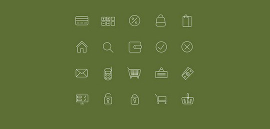 38 Beautiful Icons In PSD For Web Designers 34