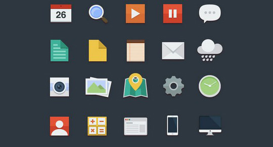 38 Beautiful Icons In PSD For Web Designers 35
