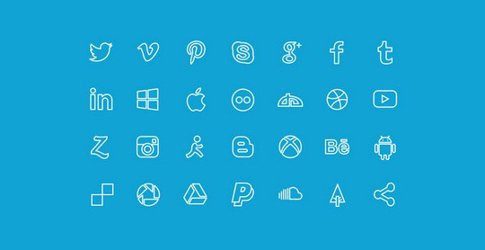 38 Beautiful Icons In PSD For Web Designers 36