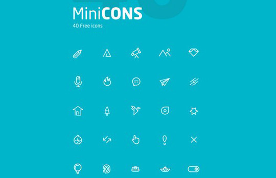 38 Beautiful Icons In PSD For Web Designers 38