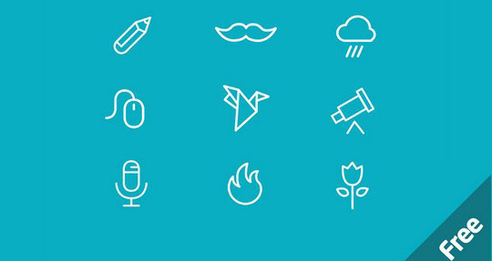38 Beautiful Icons In PSD For Web Designers 10