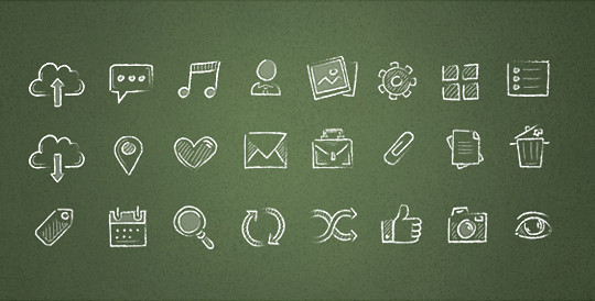 38 Beautiful Icons In PSD For Web Designers 13