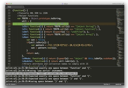 11 Sublime Text Plugins For Developers 9